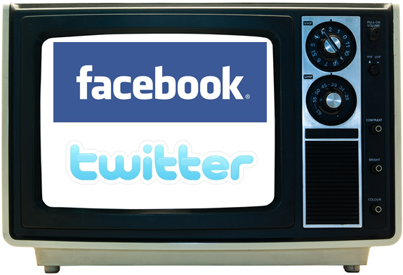 Facebook wants to kill TV, Twitter wants to steal from it