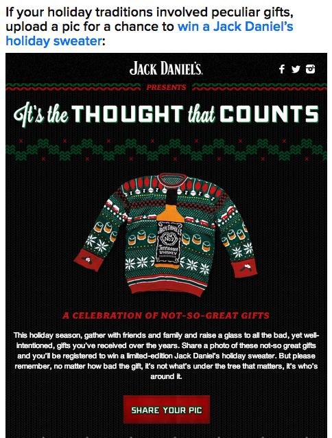 Jack Daniel's #ItsTheThoughtThatCounts